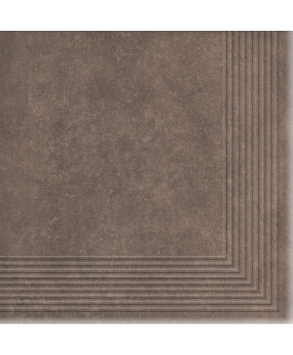 Коттедж / Cottage Cardamom tread tile (ступень угловая) 300 х 300