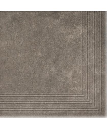 Коттедж / Cottage Pepper tread tile (ступень угловая) 300 х 300 (под заказ)