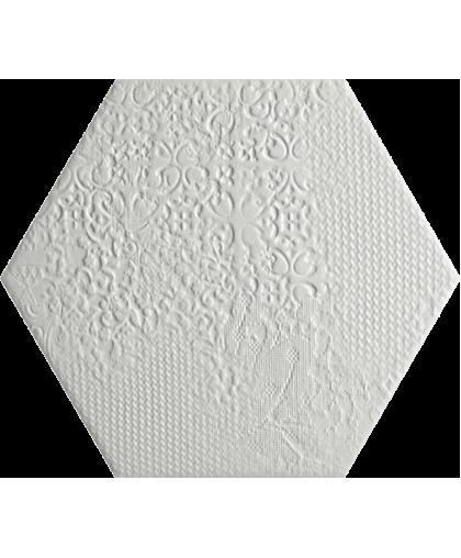 Милано Гекс / Milano White Hex 250 x 220 (под заказ)