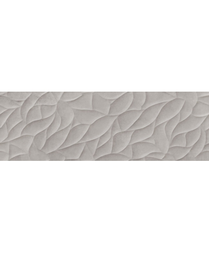 Haiku / Хайку серый рельеф 750 х 250