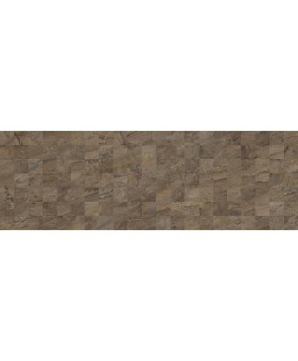 Royal / Роял мозайка коричневый (структура) 600 х 200