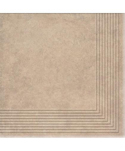 Коттедж / Cottage Masala tread tile (ступень угловая) 300 х 300