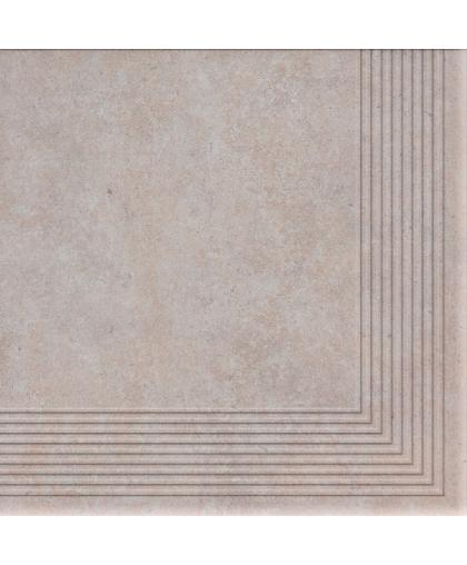 Коттедж / Cottage Salt tread tile (ступень угловая) 300 х 300