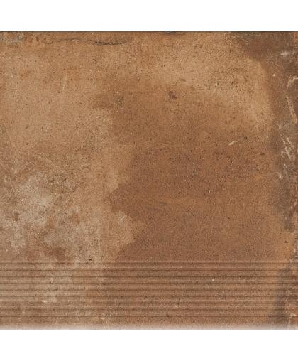 Пиатто / Piatto Terra tread tile (ступень простая) 300 х 300