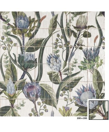 Мурал Протея / Mural Protea (set of 36 elements)  1200 х 1200 (под заказ)
