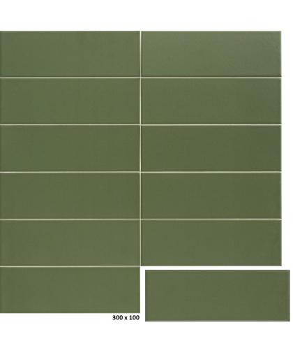 Джангл / Jungle Olive 300 х 100 (под заказ)