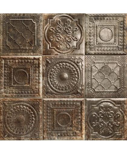 Тин Тайл / Tin Tile Rusty Nero 200 х 200 (под заказ)
