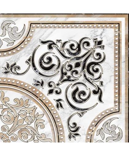 Arina / Арина декор угол (DFU03ARA024) 418 х 418