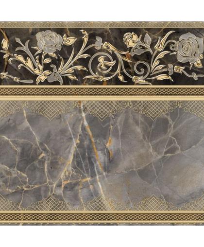 Isida / Исида декор серый (DFU03ISI407) 418 х 418