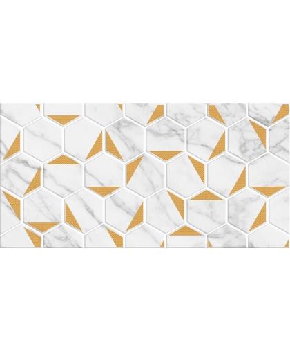 Marble / Марбл декор Gold белый 600 х 300
