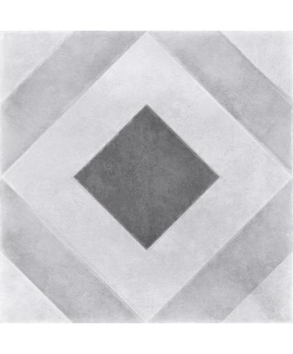 Motley / Мотли пэчворк геометрия серый 298 х 298