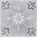 Motley / Мотли пэчворк цветы серый 298 х 298