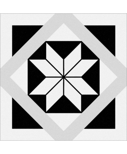 Stream / Стрим геометрия белый 298 х 298