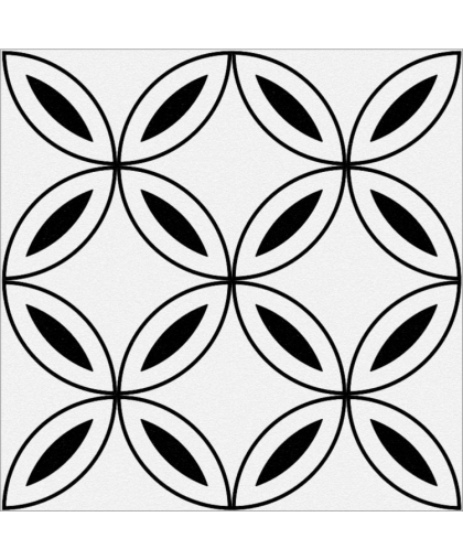 Stream / Стрим лепестки белый 298 х 298