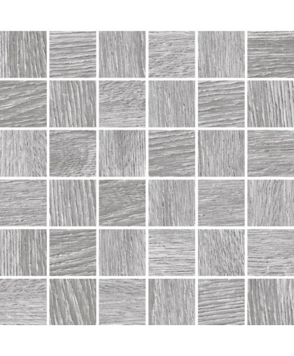 Woodhouse / Вудхаус серый мозаика 300 х 300