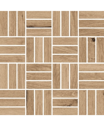 Woodhouse / Вудхаус темно-бежевый мозаика 300 х 300