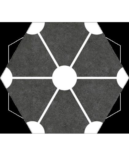 Атом / Atom Black Hex 250 x 220 (под заказ)