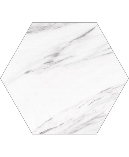 Каррара Гекс / Carrara Hex 250 x 220 (под заказ)