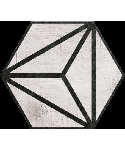 Трибека Гекс / Tribeca Grey Hex 250 x 220 (под заказ)