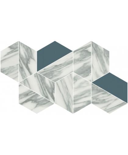 Уффици / Uffizi White Trapezium Mosaic 314 х 180 (под заказ)