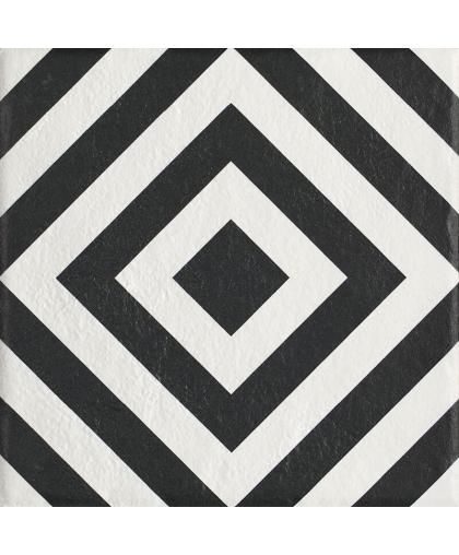 Модерн / Modern Bianco Struktura Motyw B 198 х 198