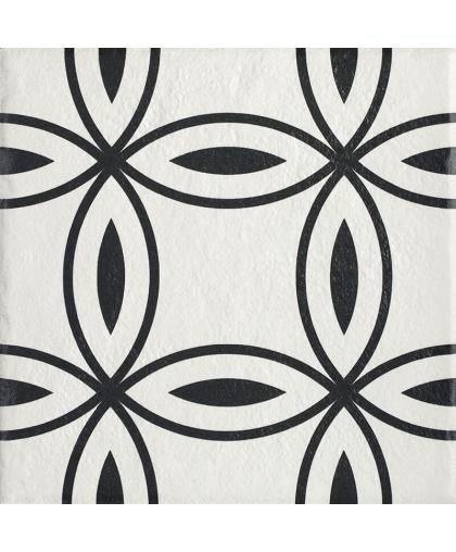 Модерн / Modern Bianco Struktura Motyw D 198 х 198