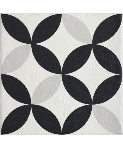 Модерн / Modern Bianco Struktura Motyw E 198 х 198