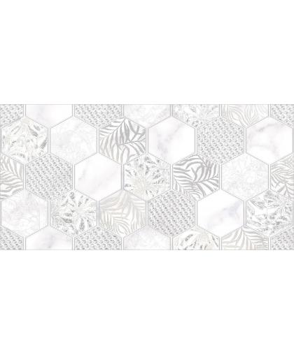 Grigio / Гриджио декор гексагон (DWU09GRG027) 500 х 249