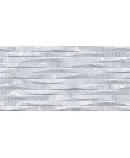 Grigio / Гриджио рельеф серый волна (TWU09GRG717) 500 х 249