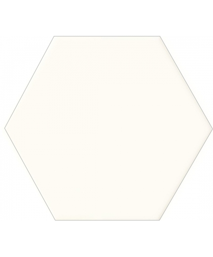 Бурано / Burano White Hex 125 x 110 (под заказ)