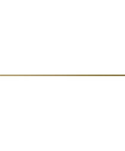 Бордюр металлик золотистый 750 х 10