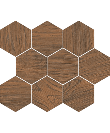 Финвуд / Finwood Ochra Mosaic Hexagon 337 x 280