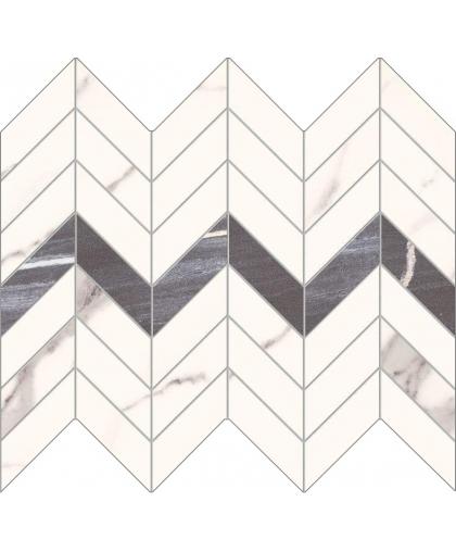 Бонелла / Bonella White Mosaic 298 x 246