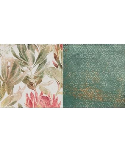 Марго / Margot Green Flower B Decor 608 x 308 (под заказ)