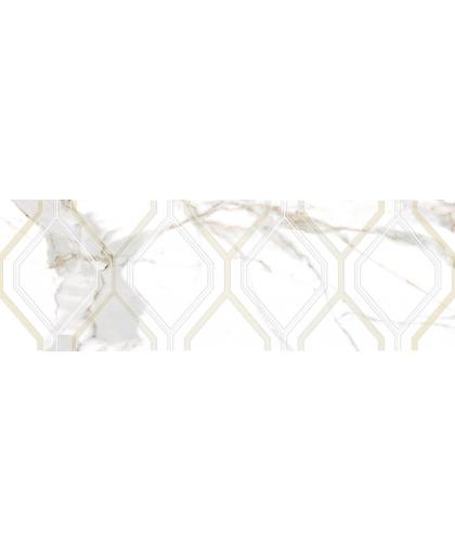 Beryl / Берил белый декор 750 х 250