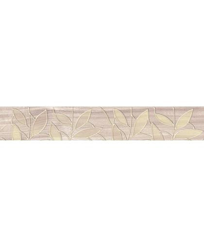 Bona / Бона бордюр Leaves бежевый 400 х 62