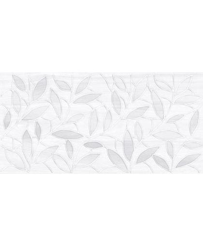 Bona / Бона декор Leaves серый 400 х 200