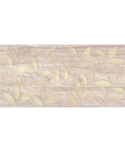 Bona / Бона декор Leaves темно-бежевый 400 х 200