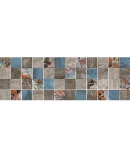 Country / Кантри декор мозаичный темный 600 х 200
