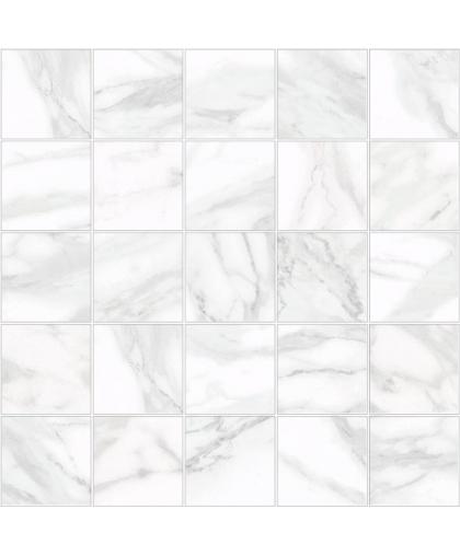 Olimpus / Олимпус декор мозаичный белый 250 х 250