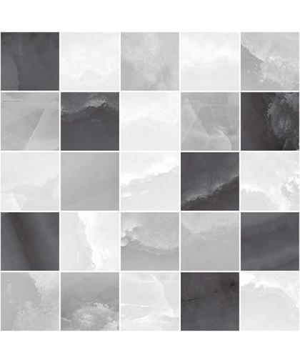 Prime / Прайм декор мозаичный серый 250 х 250