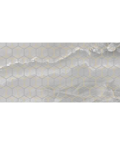 Prime / Прайм декор серый 500 х 250
