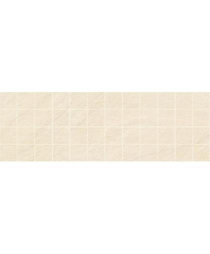 Story / Стори декор мозаичный бежевый камень 600 х 200