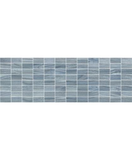 Zen / Зен синий декор мозаичный 600 х 200