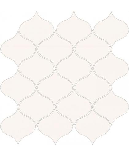 Оушен Романс / Ocean Romance White Mosaic Satin 293 х 281