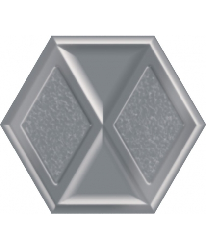 Монинг / Morning Silver Heksagon Inserto 198 х 171 (под заказ)
