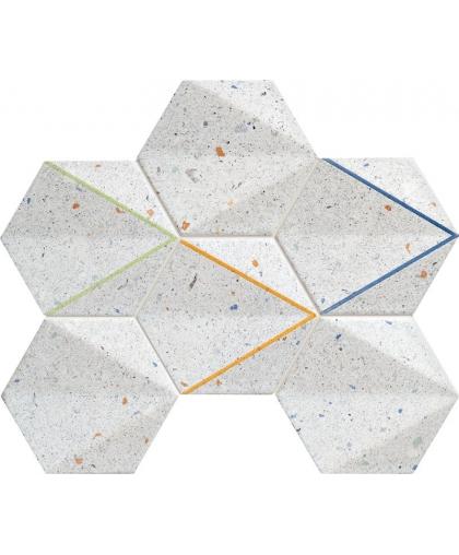 Дотс / Dots Grey Mosaic 298 х 221 (под заказ)