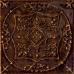 Тинта / Tinta Brown Decor 148 х 148 (под заказ)