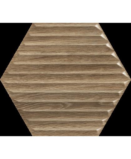 Вудскин / Woodskin Wood Heksagon Struktura B 198 х 171