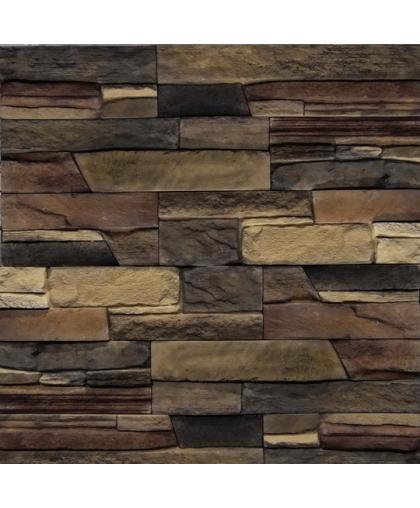 Кармиель коричнево черно-бежевый (арт. 23-689)